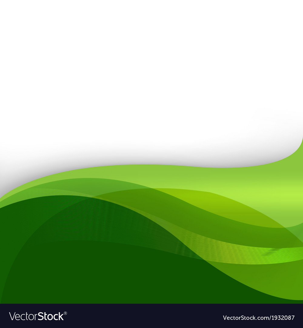Green nature abstract background vector