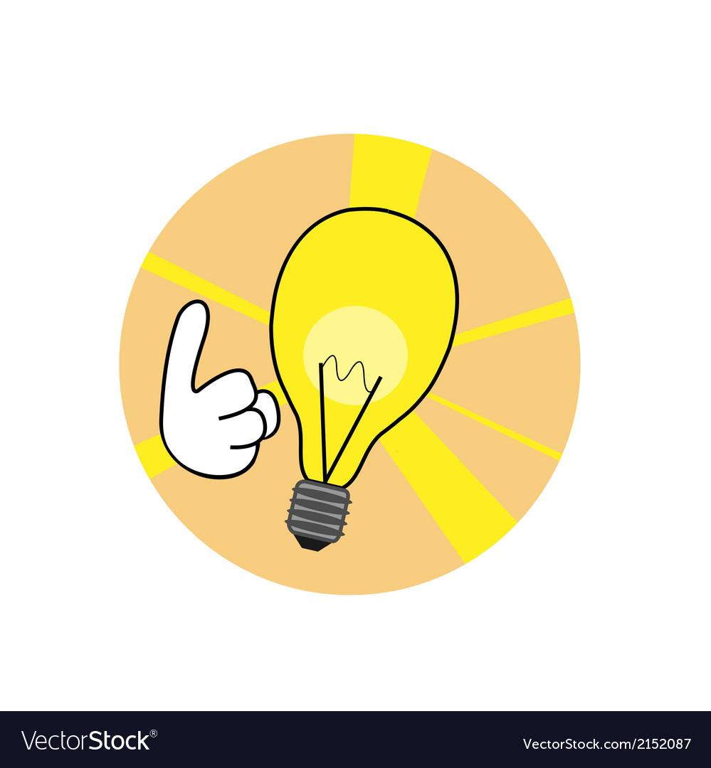 Idea lamp vector   Price: 1 Credit (USD $1)