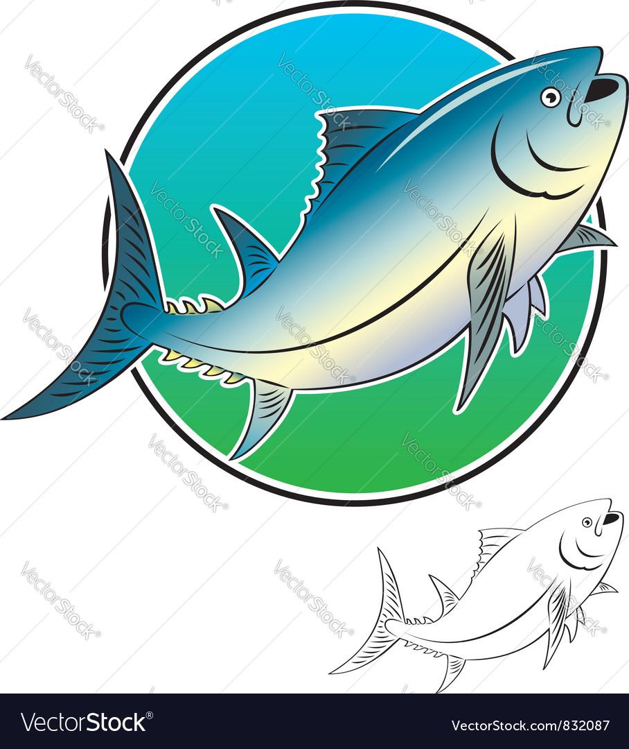 Tuna fish vector | Price: 1 Credit (USD $1)