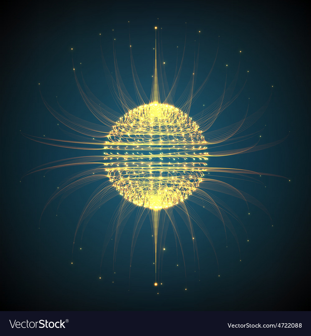 Abstract mesh background sphere of vector | Price: 1 Credit (USD $1)