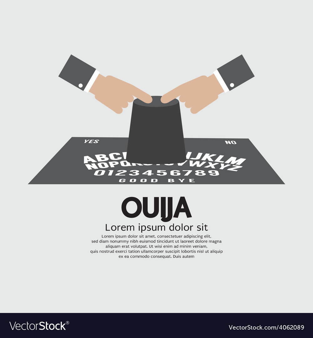 Ouija board playing vector | Price: 1 Credit (USD $1)