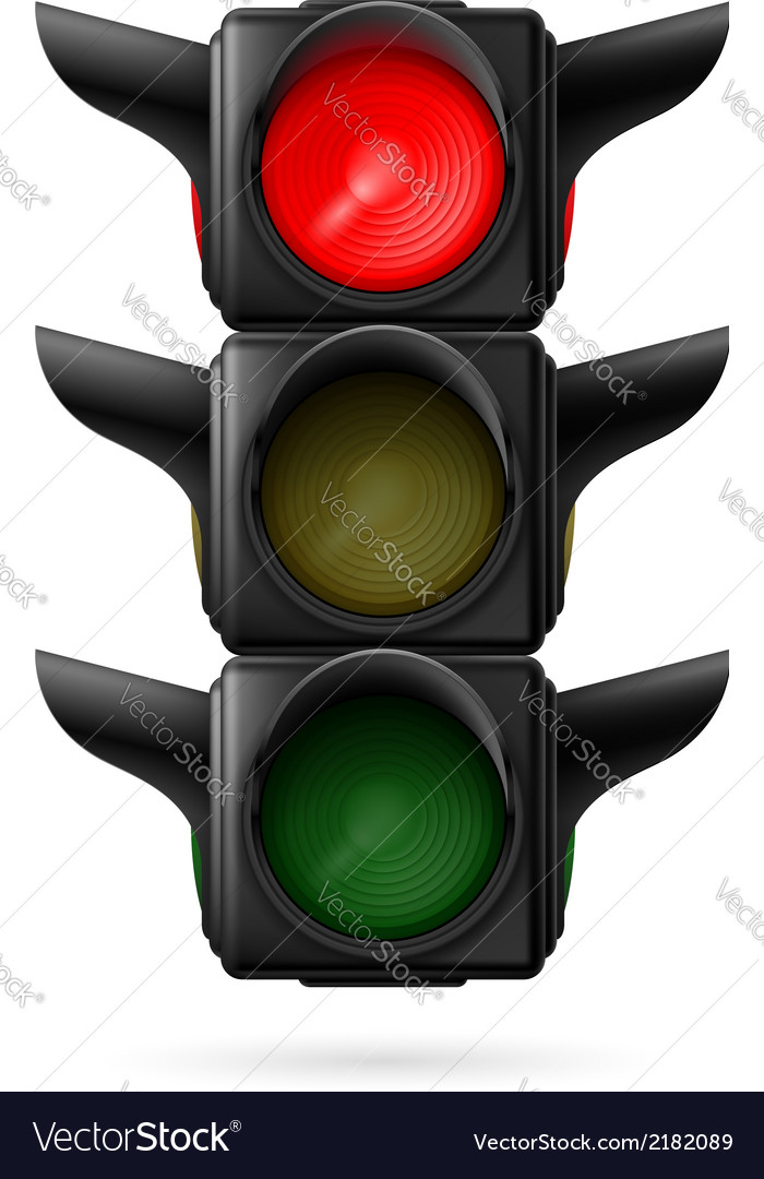 Stoplight vector | Price: 1 Credit (USD $1)