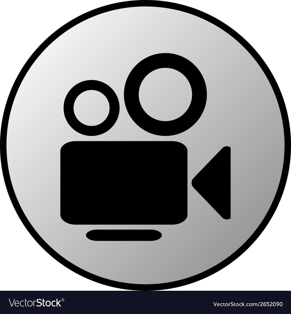 Camera button vector | Price: 1 Credit (USD $1)