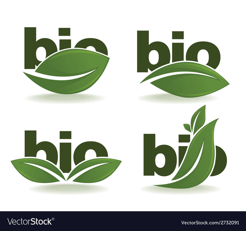 Bio symbols vector | Price: 1 Credit (USD $1)
