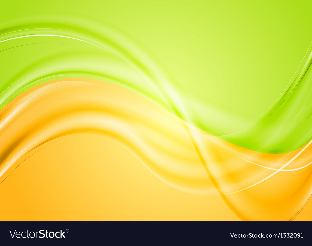 Colourful wavy spring design vector | Price: 1 Credit (USD $1)