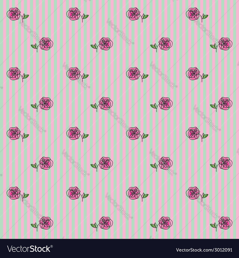 Floral pattern 1 vector | Price: 1 Credit (USD $1)