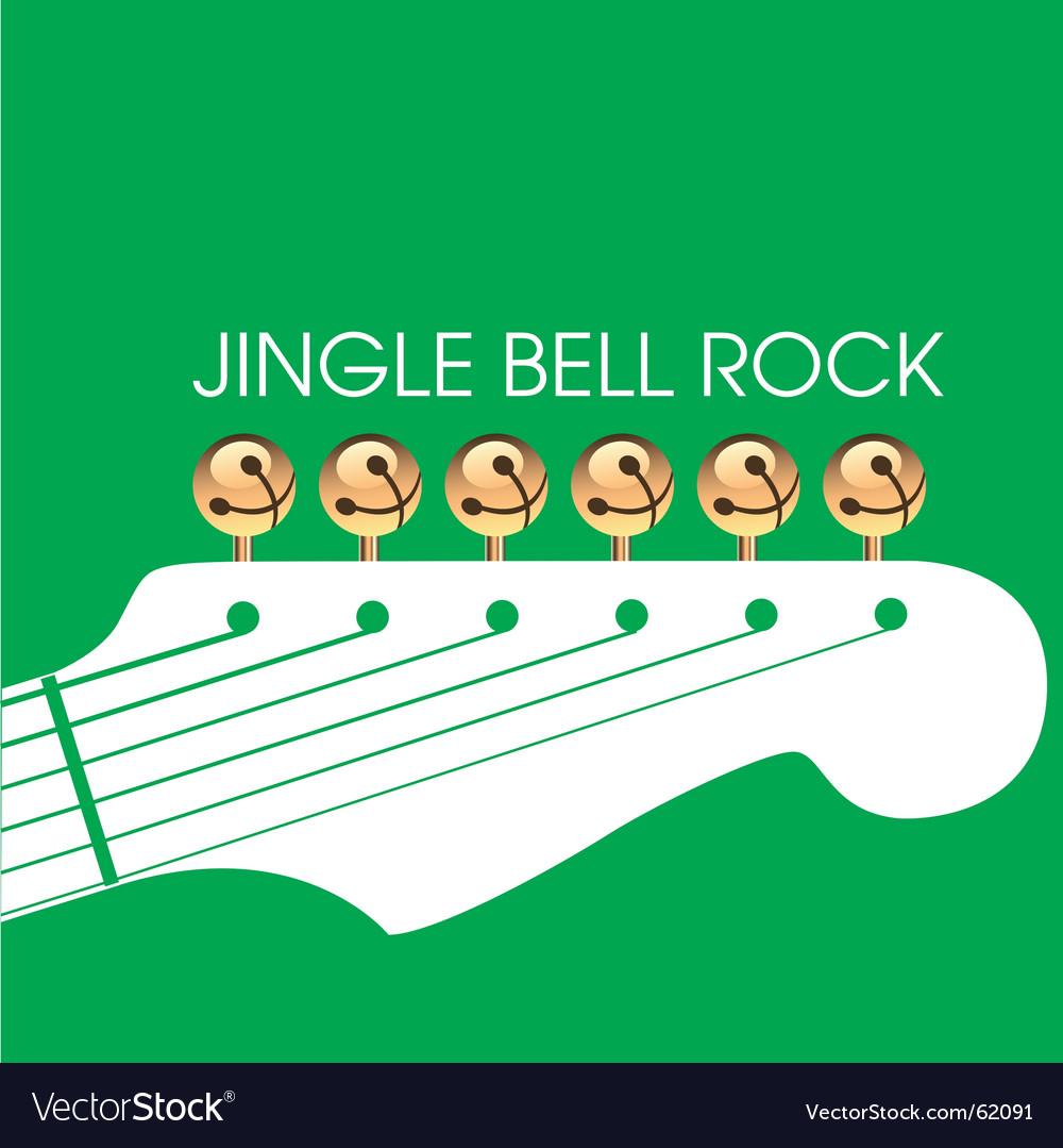Jingle bell rock vector