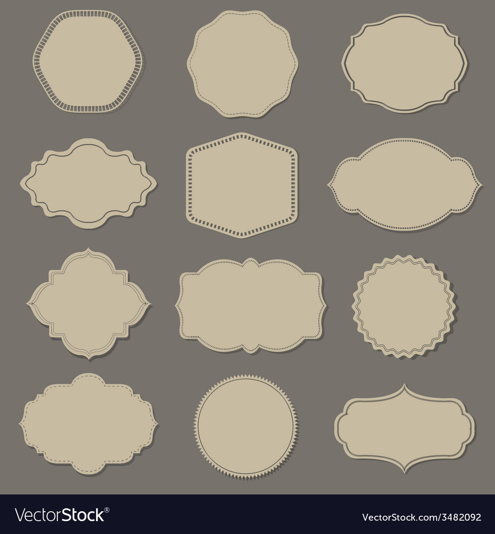 Label big set vector | Price: 1 Credit (USD $1)