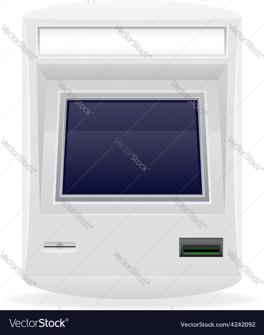Terminal for receiving payments 03 vector | Price: 1 Credit (USD $1)