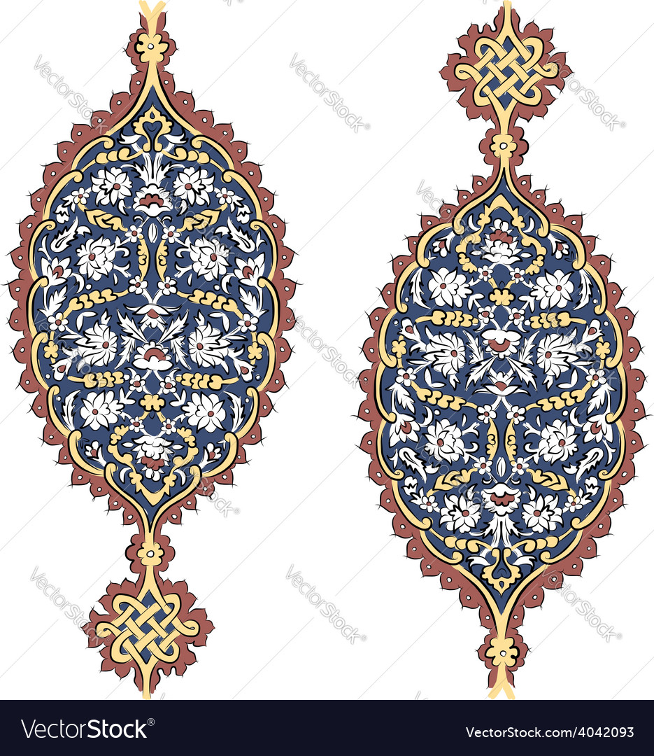 Abstract turkish pattern for your design vector | Price: 1 Credit (USD $1)