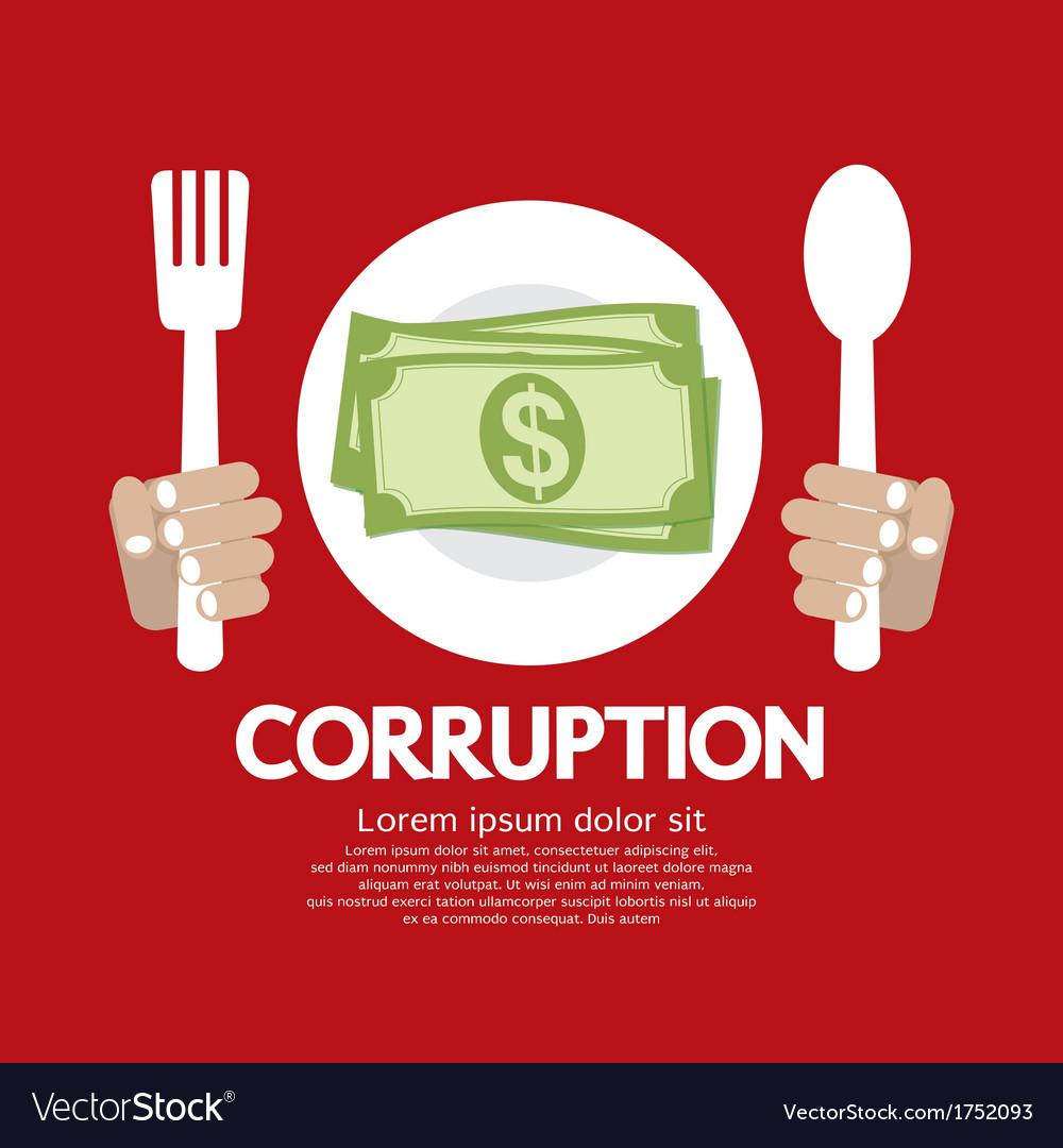 Corruption eps10 vector | Price: 1 Credit (USD $1)