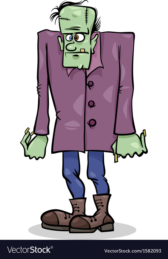 Halloween frankenstein cartoon vector   Price: 1 Credit (USD $1)