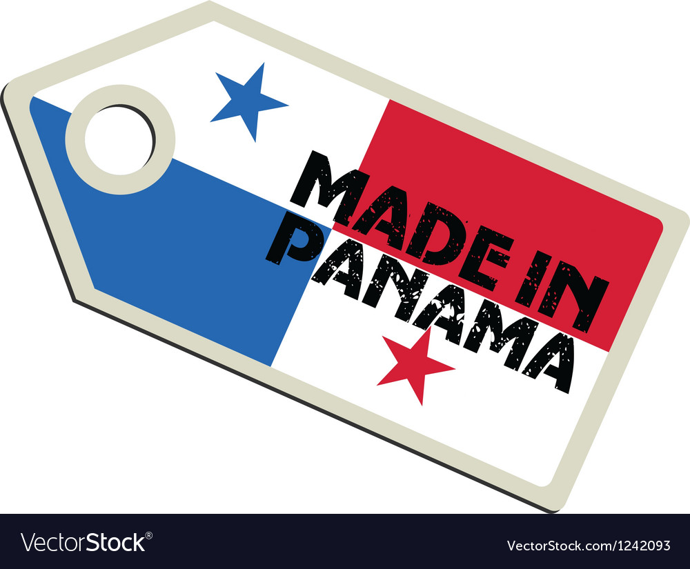 Made in panama vector | Price: 1 Credit (USD $1)