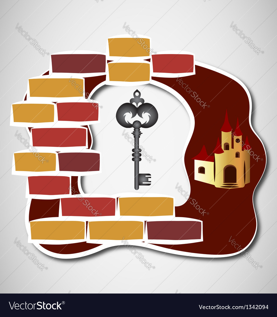 Key to castle vector | Price: 1 Credit (USD $1)