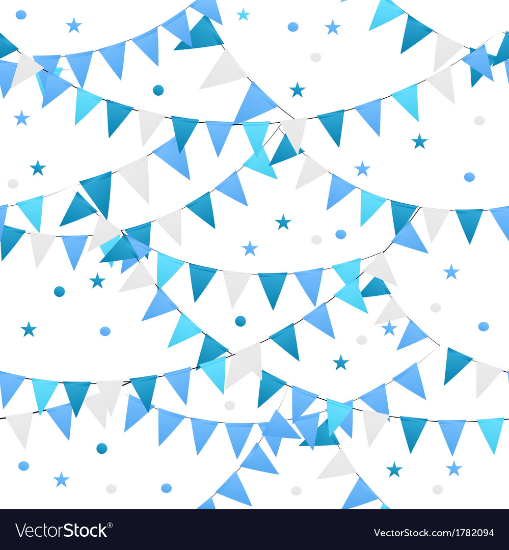Party background seamless pattern vector | Price: 1 Credit (USD $1)