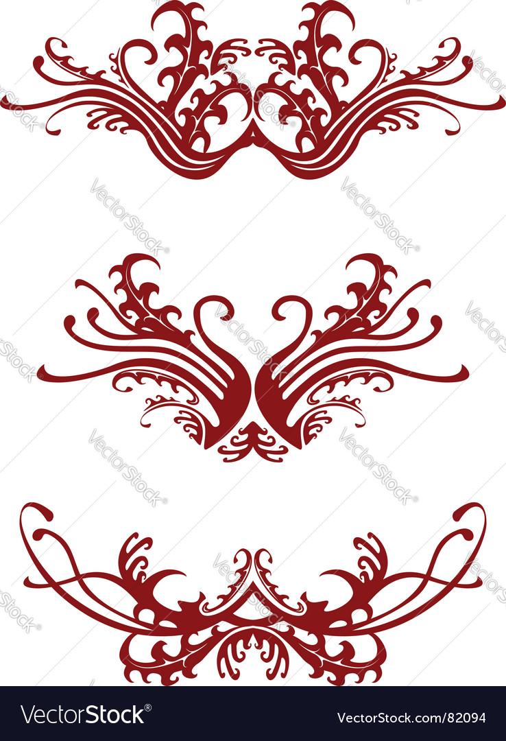 Regal decorations vector | Price: 1 Credit (USD $1)