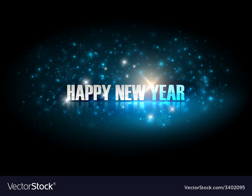 Happy new year holiday background vector | Price: 1 Credit (USD $1)