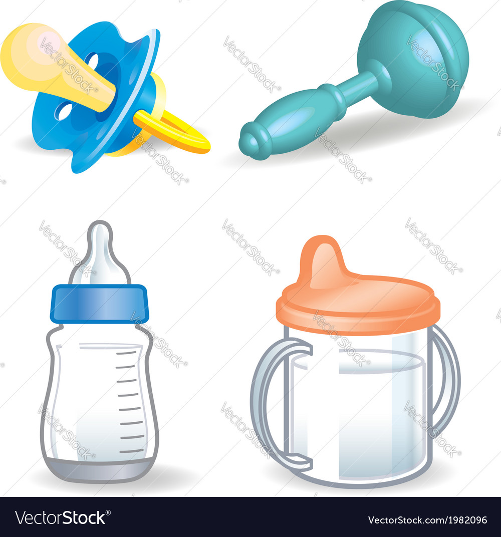 Baby things vector | Price: 1 Credit (USD $1)