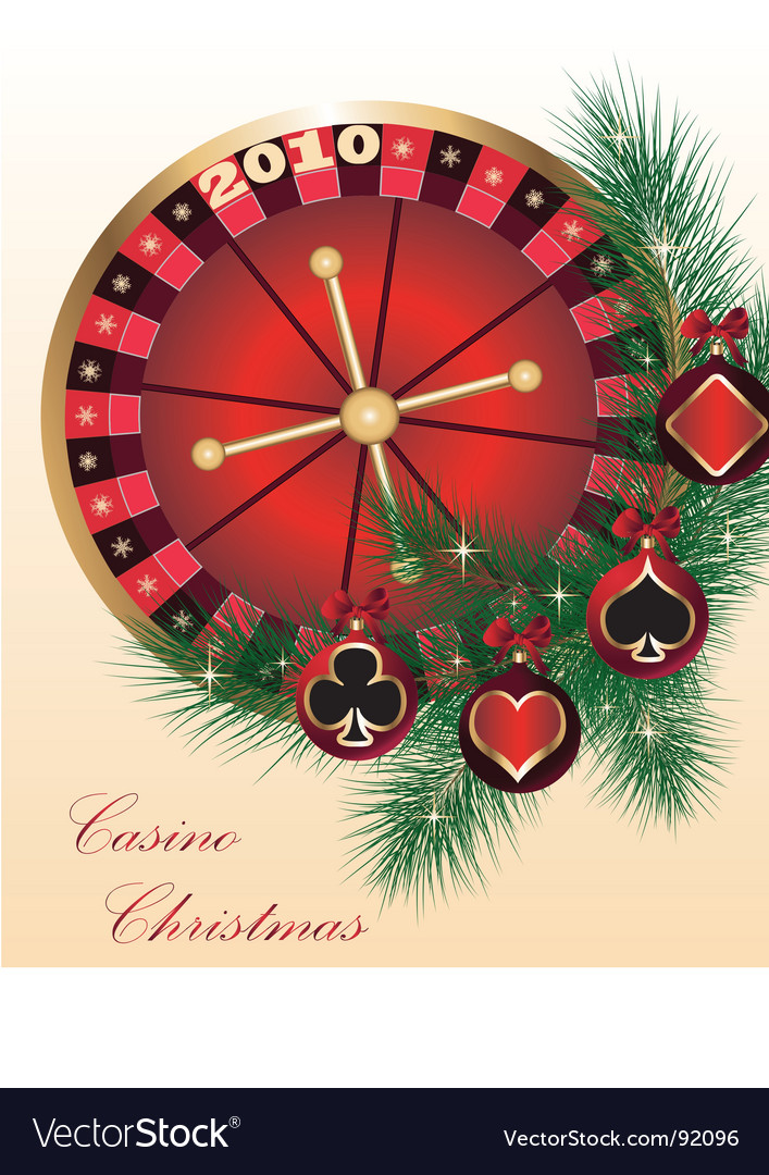 Casino christmas vector | Price: 1 Credit (USD $1)