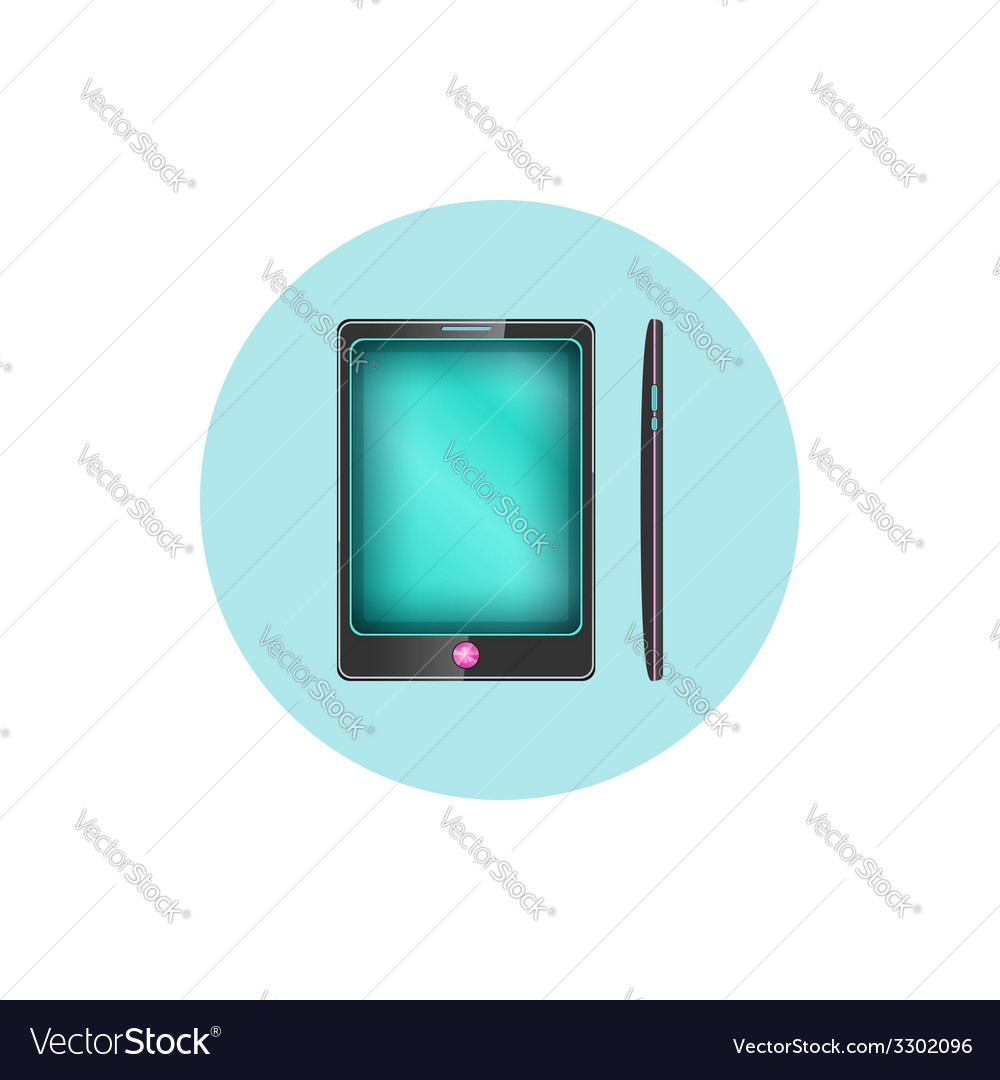 Phone icon gadget icon vector | Price: 1 Credit (USD $1)