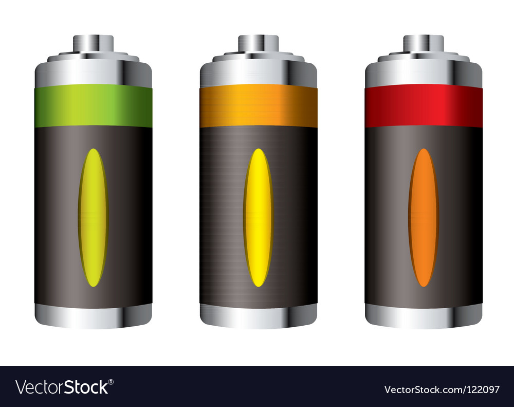 Battery icon vector   Price: 1 Credit (USD $1)