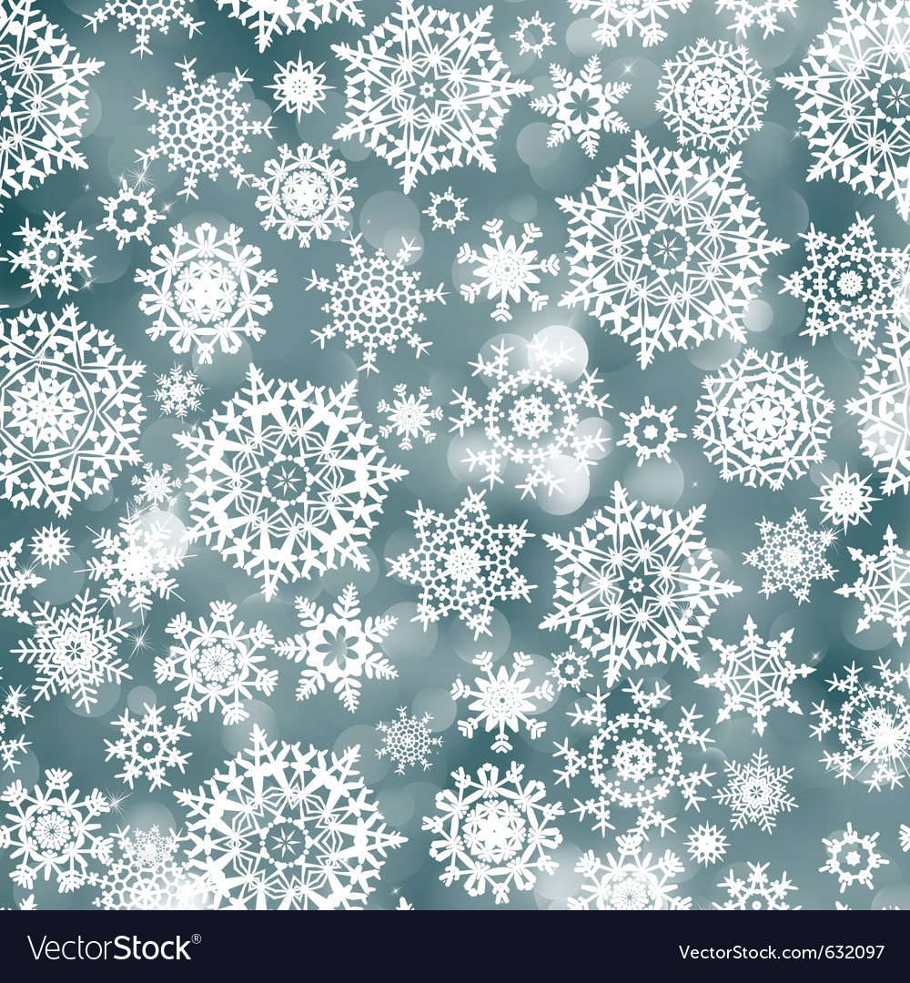 Blue christmas background with snowflake eps 8 vector | Price: 1 Credit (USD $1)