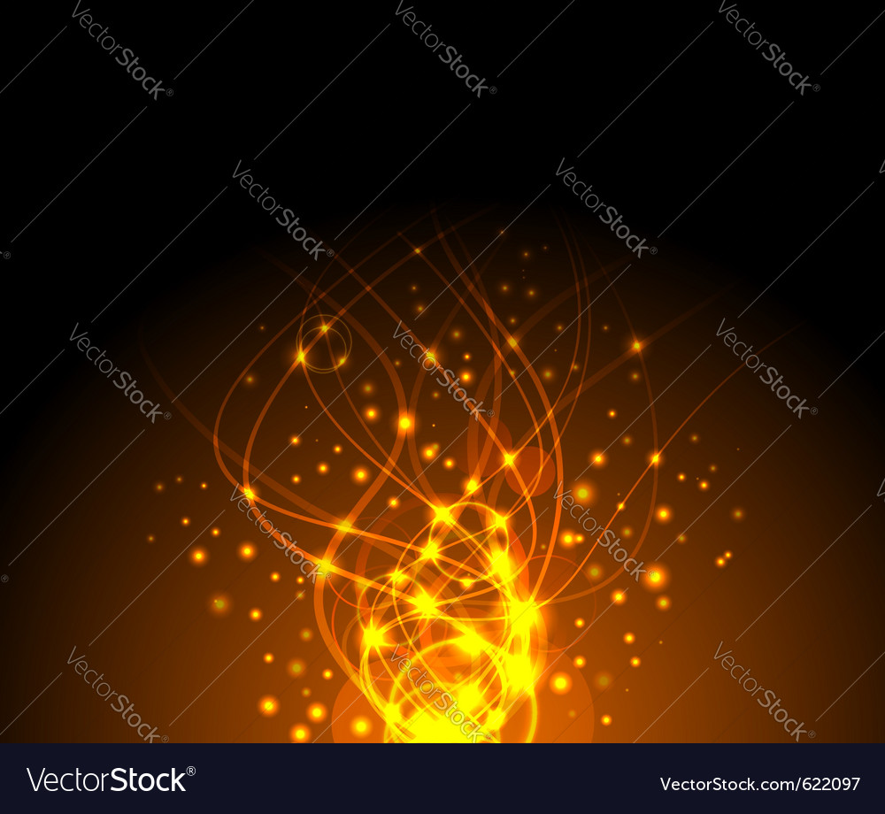 Fire sparkling background vector | Price: 1 Credit (USD $1)