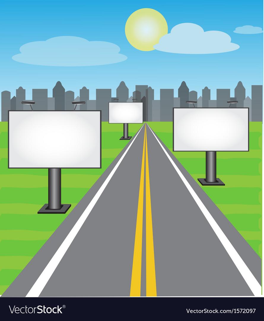 Road boards vector | Price: 1 Credit (USD $1)