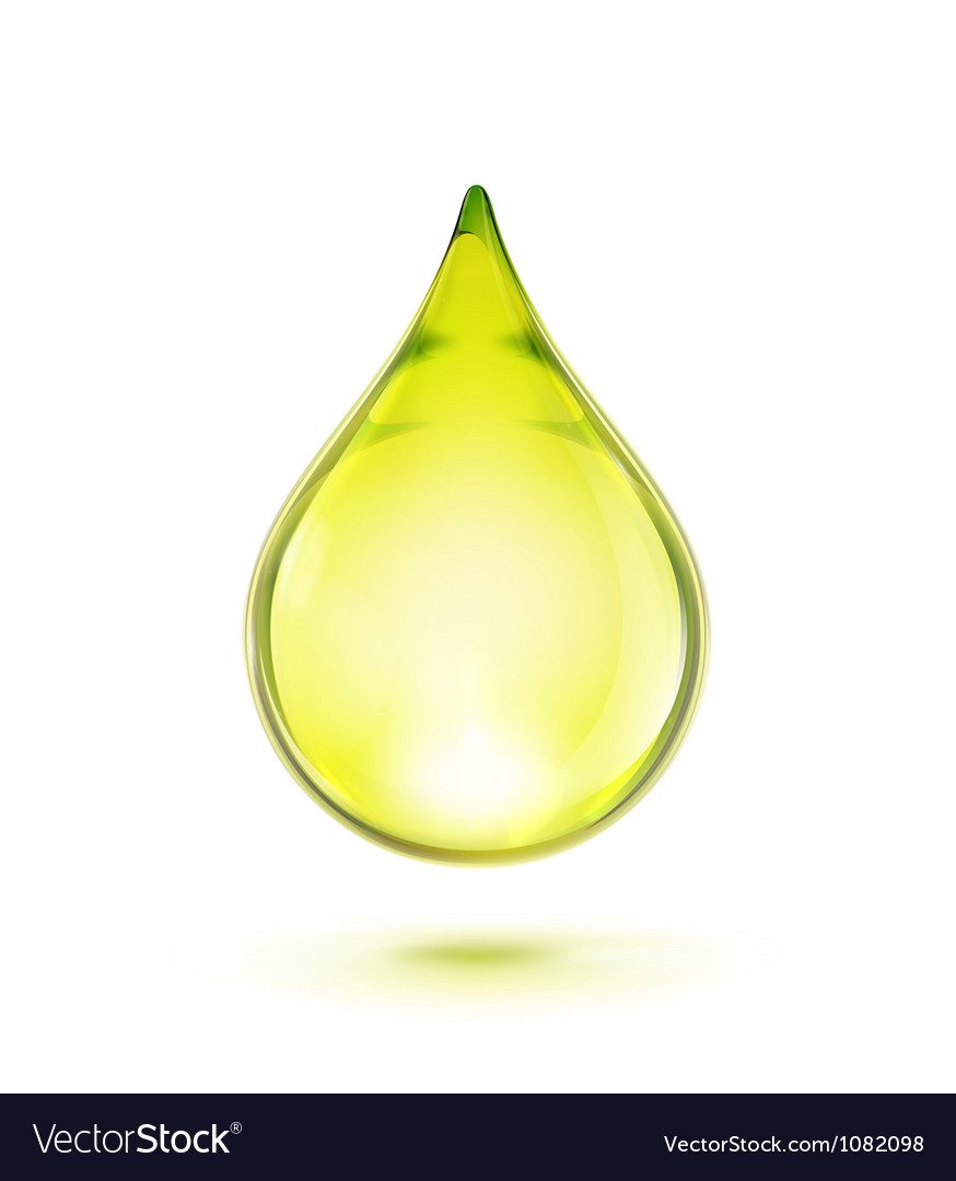 Oil drop vector | Price: 1 Credit (USD $1)