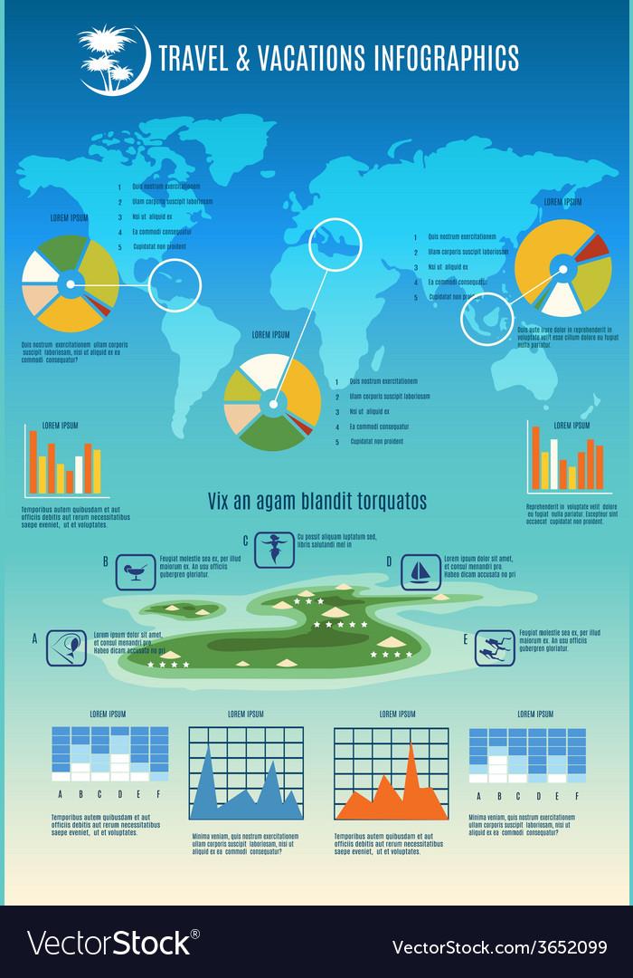 Travel info graphic vector | Price: 1 Credit (USD $1)