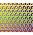 Cubes pattern vector