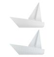 Origami ships vector
