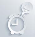 Alarm clock background eps10 vector