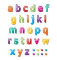 Abc font vector