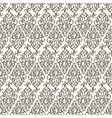 Seamless pattern with abstract doodle ornament vector