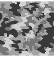 Seamless square camouflage pattern grey vector