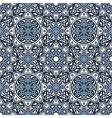 Arabesque seamless pattern in blue vector