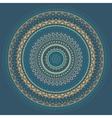 Mandala indian decorative pattern vector