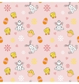 Seamless easter background vector