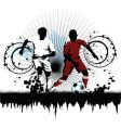 Soccer attack vector