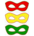 Masks traffic light vector