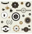Coffee label2 vector