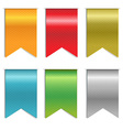 Ribbon markers vector