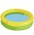 Inflatable pool vector