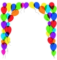 Balloon frame vector