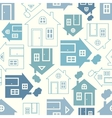 Home sweet home house silhouette vector