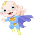 Super baby boy vector