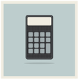 Classic finance accounting calculator vector