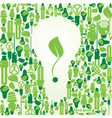 Ecology energy environment green vector