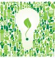 Ecology energy environment green vector